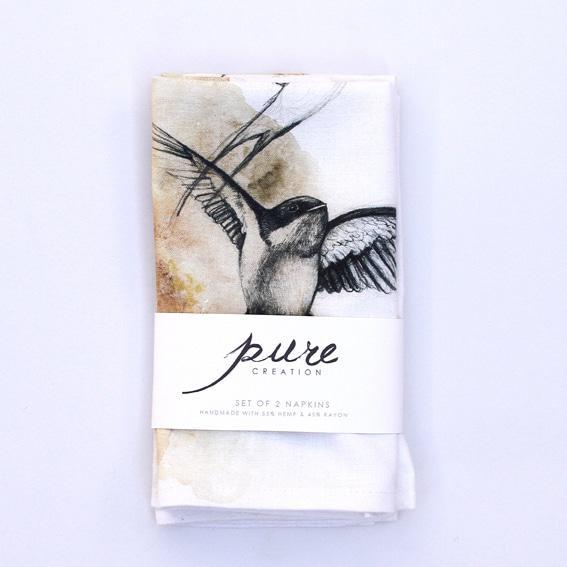 pure creation napkins