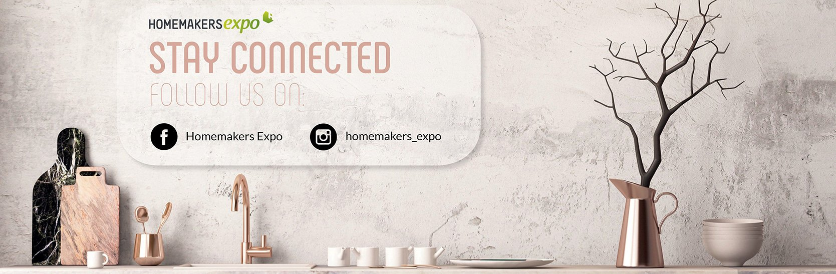 HOMEMAKERS Expo 2019 - Social Media