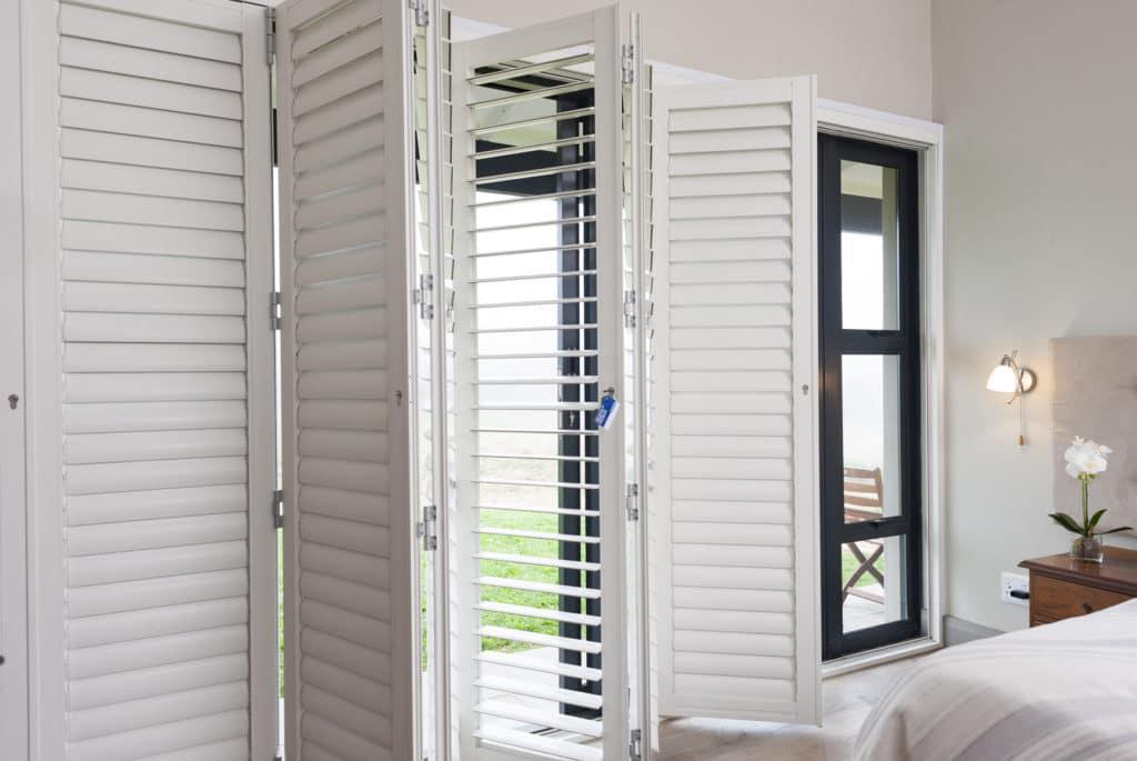 Trellidor Security Shutter bedroom