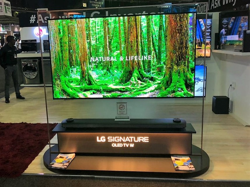 LG TV at the Johannesburg HOMEMAKERS Expo