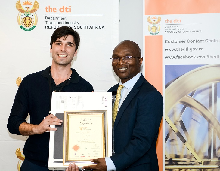 THE DTI furniture design competition winner