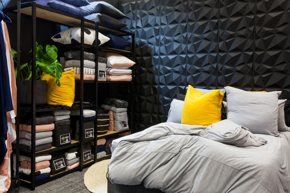 Tshirt Bed C. at the 2018 Cape Town HOMEMAKERS Expo