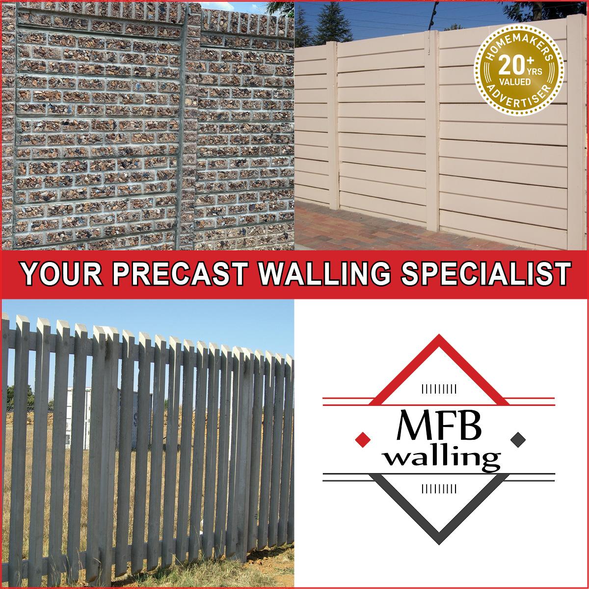 mfb walling precast concrete walling