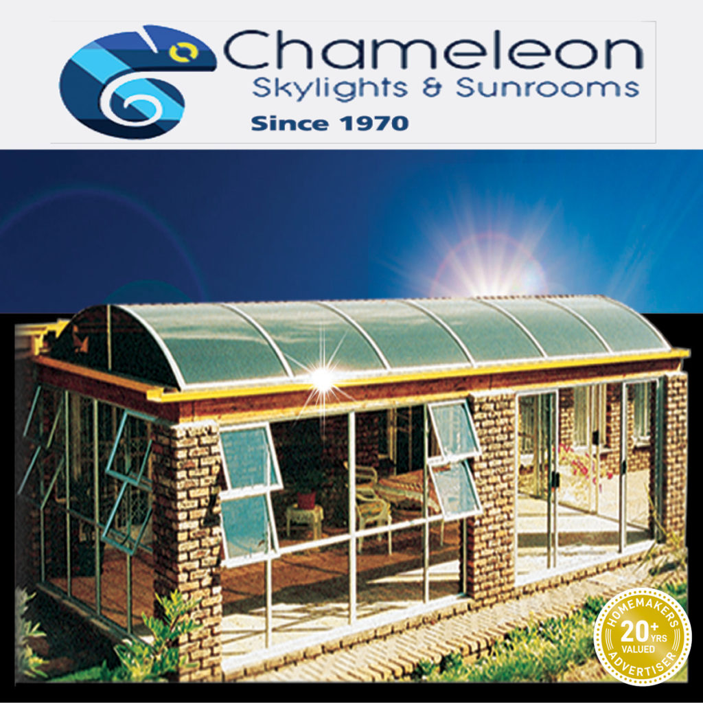 chameleon skylights and sunrooms