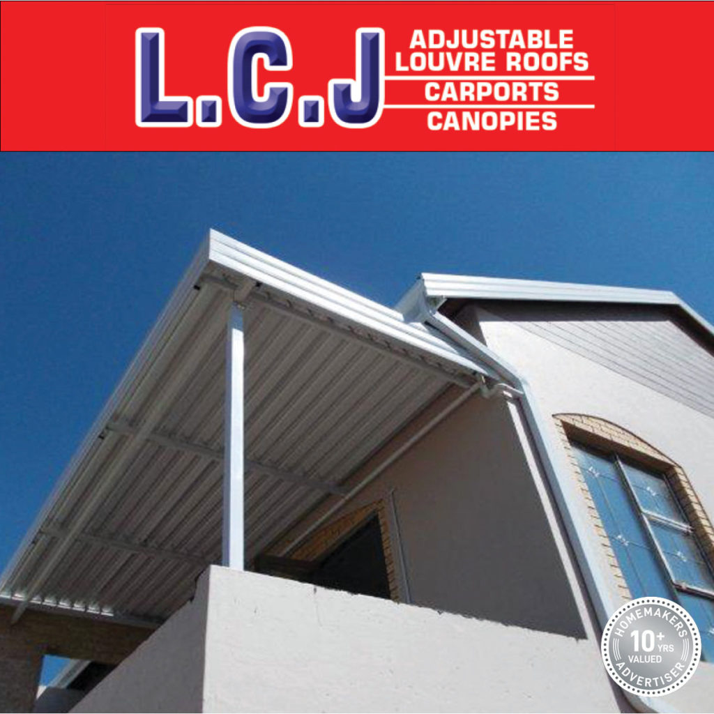 LCJ adjustable louvre roofs, carports & canopies