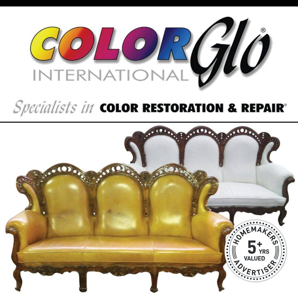 colorglo furniture color restoration and repair