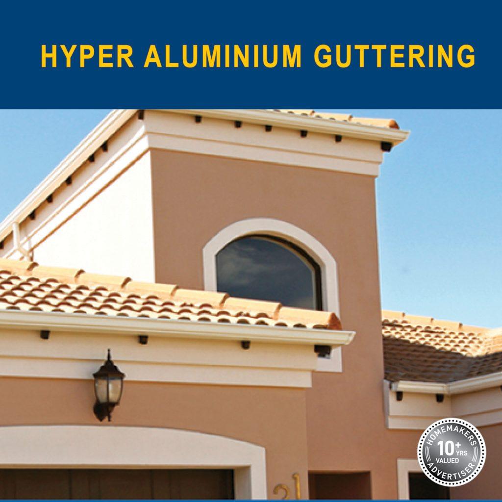 hyper aluminium gutters
