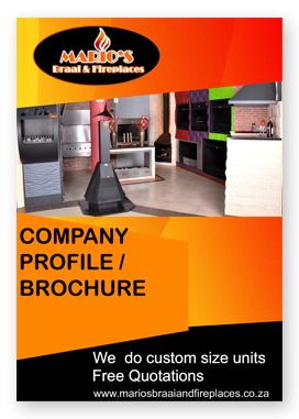 Marios braais and fireplaces brochure