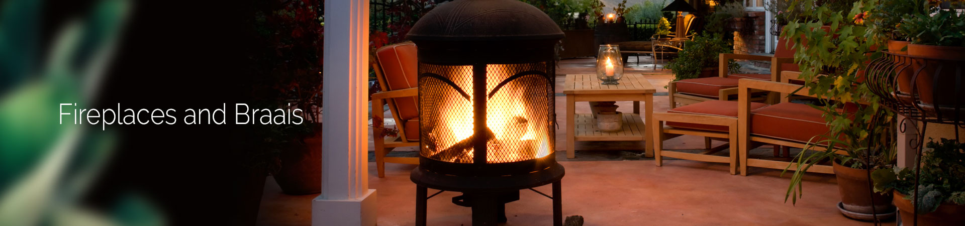fireplaces and braais