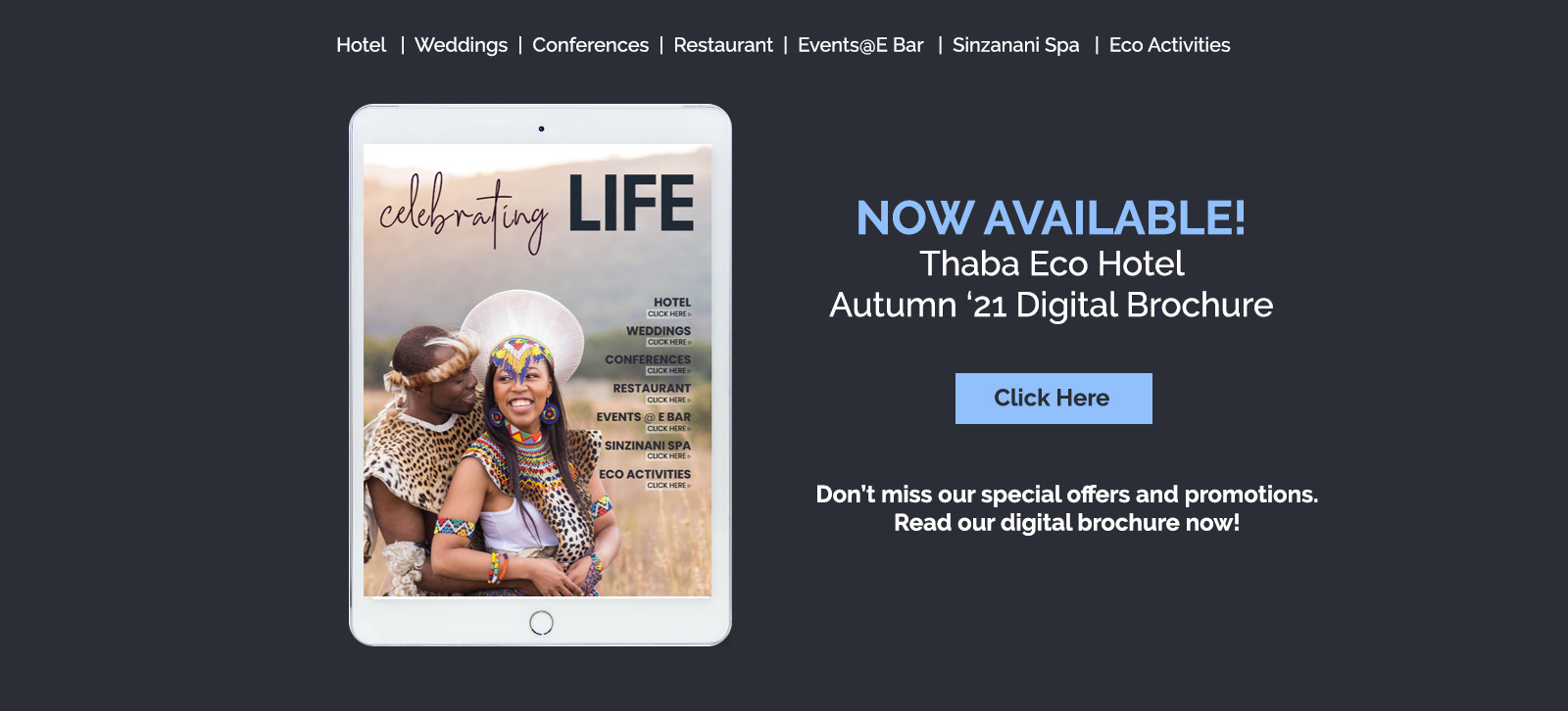 thaba celebrating life digital brochure