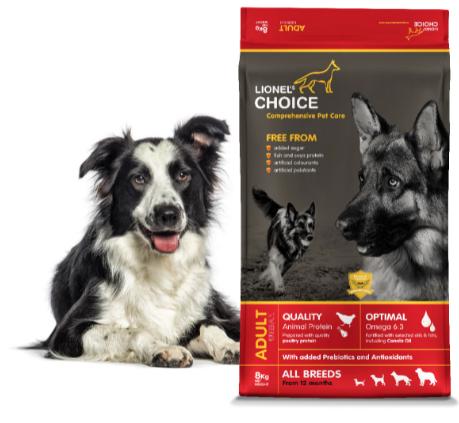 lionels choice adult dog food