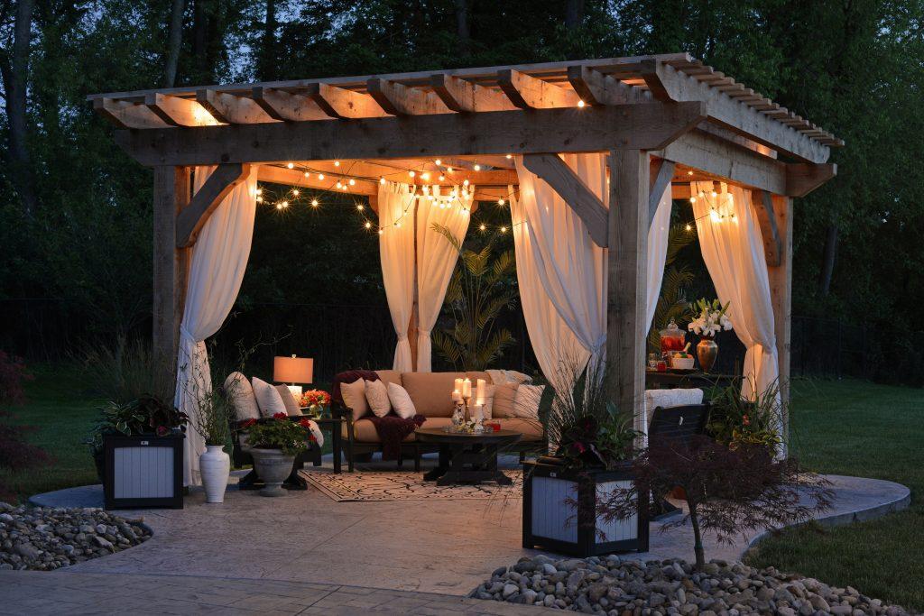 cosy outdoor areas