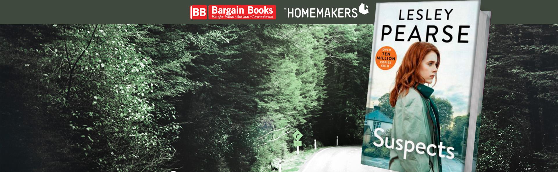 bargain books lesley pearse