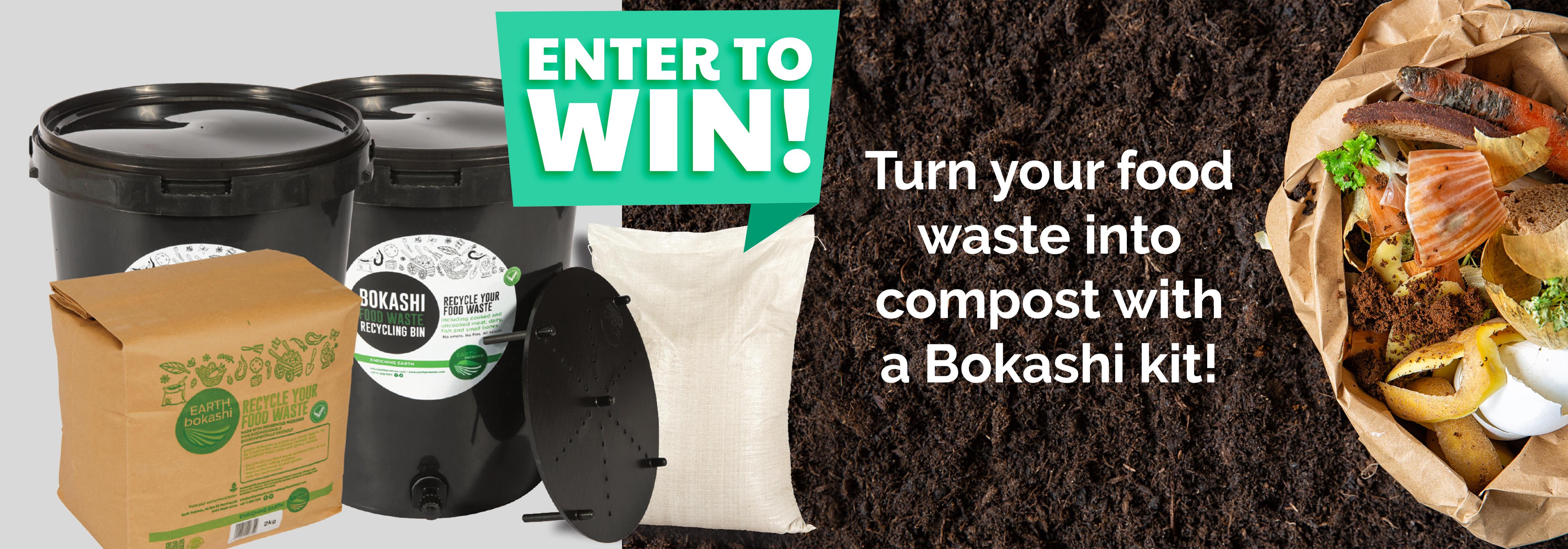 win a bokashi compost maker