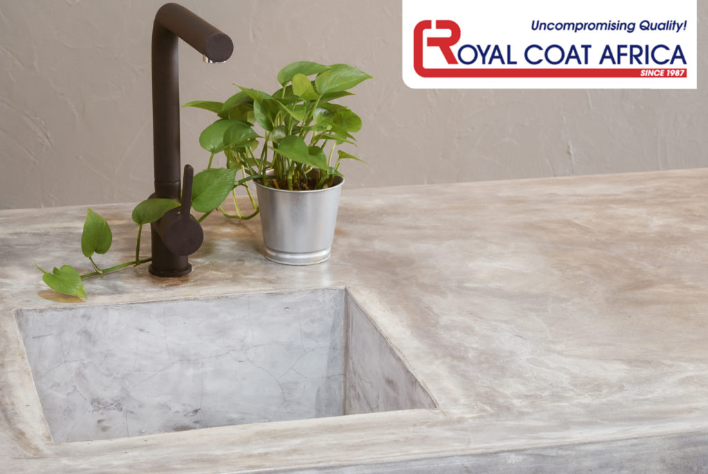 royal coat africa cement kitchen counter tops