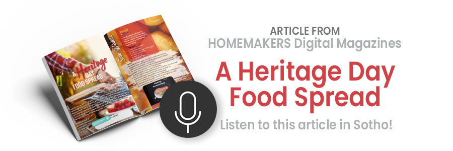 Heritage Day Food Spread Recipes